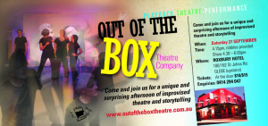 OOTB Playback Theatre Performance - Click to enlarge