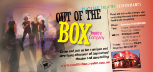Out of the Box Theatre Performance - Click to enlarge